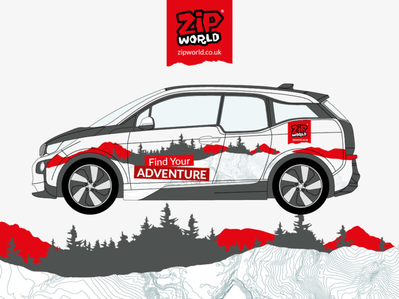Zip World Vehicle Graphics