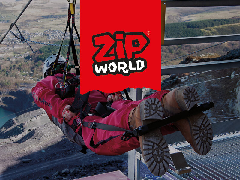 Zip World Branding