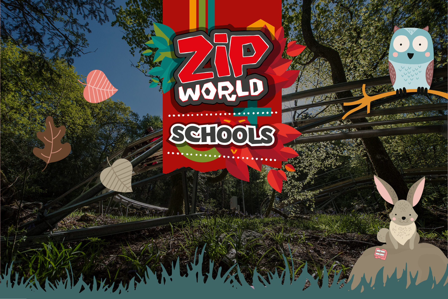ZIP WORLD SCHOOLS SLIDER